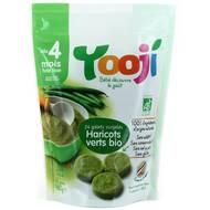 3760234500154 - Yooji - Purée de haricots verts bio surgelée en portions dès 4 mois