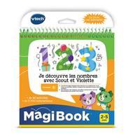 3417764807054 - Vtech - Magibook- Je découvre les nombres avec Scout et Violette