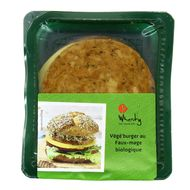 4032277007754 - Wheaty - Végé-burger au faux-mage bio Vegan