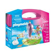 4008789091055 - PLAYMOBIL® Fairies - Valisette Fée et radeau transportable