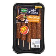 3039050351555 - Socopa - 5 Brochitos porc à la méxicaine