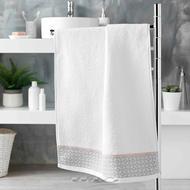 3574388012155 - Douceur D Interieur - Serviette de toilette Belina Blanc