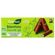 3396411222955 - Evernat - Batonnêts chocolat lait bio
