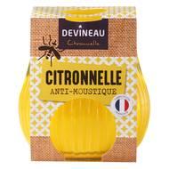 3065873433055 - Devineau - Bougie jaune Citronnelle