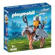 4008789093455 - PLAYMOBIL® Knights - Combattant nain et poney