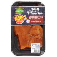 3039050533555 - Socopa - Mincerettes de filet de porc saveur barbecue