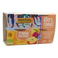 3431590013755 - Danival - Purée Pomme nectarine bio 100% Origine France