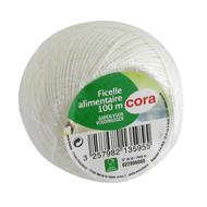 3257982135955 - Cora - Ficelle alimentaire 100m