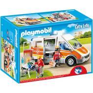 4008789066855 - PLAYMOBIL® City Life - Ambulance avec gyrophare et sirène