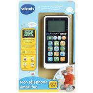 3417766037855 - Vtech - Mon téléphone emoti'fun noir et blanc