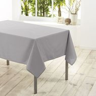3574387201956 - Douceur D Interieur - Nappe rectangle GRIS 6/8 couverts