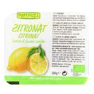 4006040307556 - Rapunzel - Ecorces de Citron Confites bio en cube