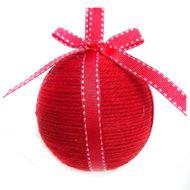 3602904889056 - Cora - Boule avec noeud rouge