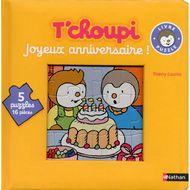 9782092551257 - T Choupi - Livre puzzle- Joyeux anniversaire