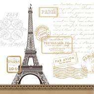 4021766211857 - Paperproducts Design - Serviettes papier Paris rendez-vous