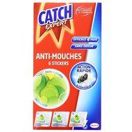 3152210224657 - Catch - Stickers anti-mouches pour 4 mois d'efficacité