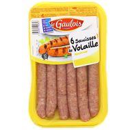 3266980194857 - Le Gaulois - Saucisses de volaille