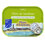 3263670015157 - Phare d'Eckmuhl - Filet de Sardine à l'Huile d'Olive extra Bio