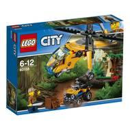 5702015866057 - LEGO® City - 60158- L'hélicoptère cargo de la jungle