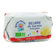 3252920016457 - Grandeur nature - Beurre bio de baratte 1/2 Sel