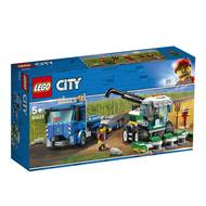 5702016369557 - LEGO® City - 60223- Le transport de l'ensileuse