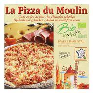 3273640001158 - La Pizza du Moulin - Pizza bio Epaule emmental cuite au feu de bois