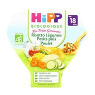 4062300081758 - Hipp - Risotto Légumes Petits Pois Poulet bio, dès 18 mois