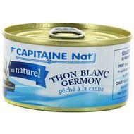 3522920004458 - Capitaine Nat - Thon blanc Germon au naturel pêché à la canne