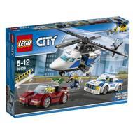 5702015865258 - LEGO® City - 60138- La course-poursuite en hélicoptère