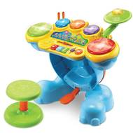 3417761967058 - Vtech - Batterie Eléphant interactive et éducative- Jungle Rock