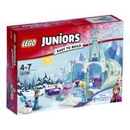 5702015868358 - LEGO® Juniors - 10736- L'aire de jeu d'Anna et Elsa- Disney Princess