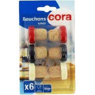 3257982134859 - Cora - Bouchons de liège