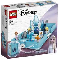 5702016909159 - LEGO® Disney Princess - 43189- Les aventures d'Elsa et Nokk dans un livre de contes