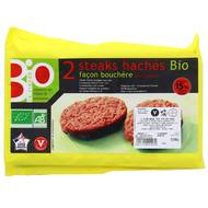 3423310000060 - Puigrenier - Steak haché 15% mat.gr Bio