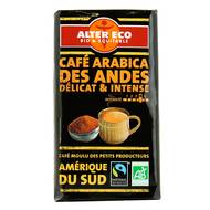 Alter Eco - Café 100% arabica, bio, des Andes délicat et intense