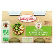3288131510460 - Babybio - Brocoli pomme de terre du Val de Loire bio, dès 6 mois