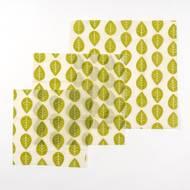 7640185742260 - Nuts - Set de 3 feuilles emballage alimentaire VEGAN