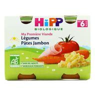 4062300056060 - Hipp - Légumes Pâtes Jambon bio, dès 6 mois