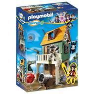 4008789047960 - PLAYMOBIL® Super 4 - Fort des pirates camouflé avec Ruby