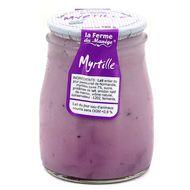 3384079998060 - La Ferme du manège - Yaourt Myrtille au lait entier