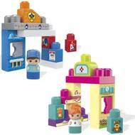 0887961408560 - Mega Bloks - Set de jeu police ou vétérinaire