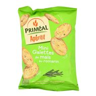 3380380068560 - Priméal - Mini Galettes de Maïs au Romarin, bio sans gluten