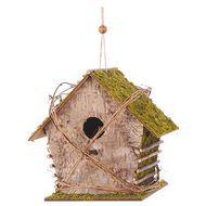 3526780738560 - Codico - Mangeoire oiseaux en bois à suspendre