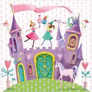 4021766201261 - Paperproducts Design - Serviettes papier princess castle