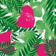 3257985742761 - Cora - Serviettes en papier exotic pink 33x33 cm
