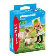 4008789093561 - PLAYMOBIL® Spécial Plus - Fermière avec moutons