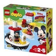 5702016116861 - LEGO® DUPLO® Mickey Mouse - 10881- Le bateau de Mickey