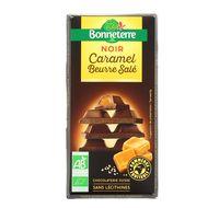 3396411221262 - Bonneterre - Chocolat noir fourré caramel salé bio