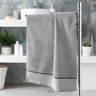 3574388012162 - Douceur D Interieur - Serviette de toilette Belina Gris
