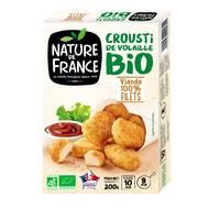 3422210447562 - Nature De France - Crousti de volaille bio